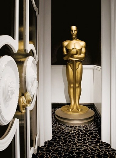 Green Room at the 2008 Academy Awards – design by Dorothy Draper & Company graphic