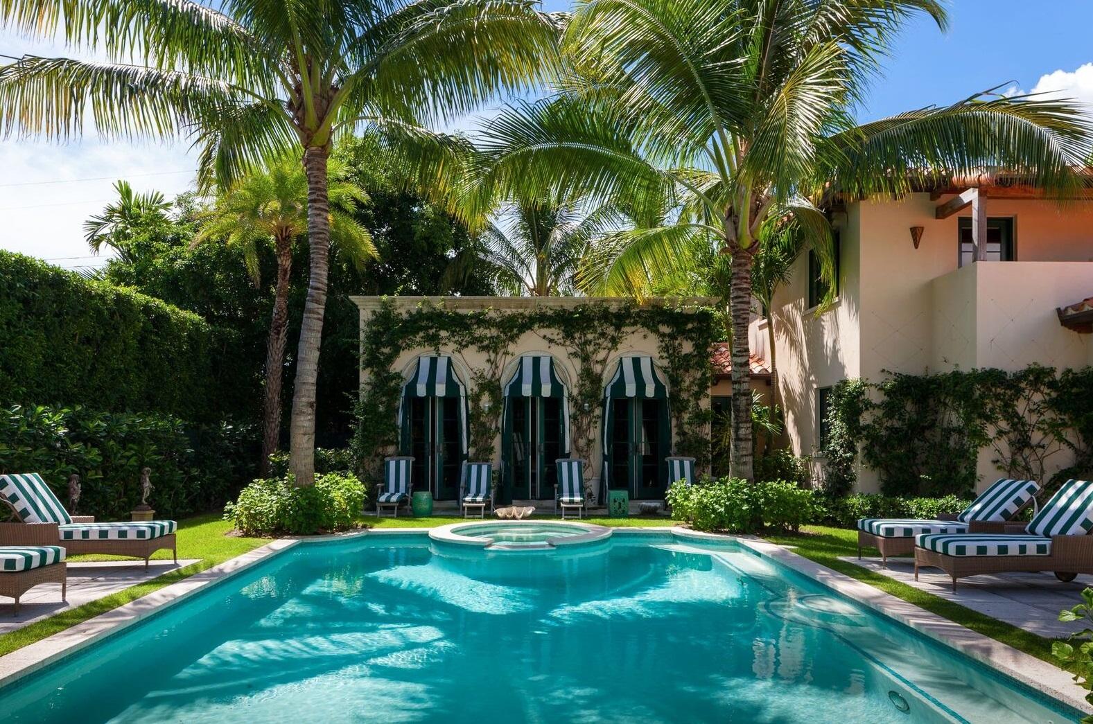 Palm Beach home – design by Dorothy Draper & Company graphic