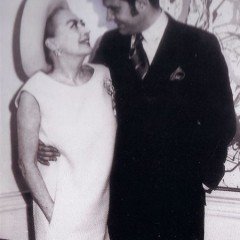 Joan Crawford and Carleton Varney, President of Dorothy Draper & Company