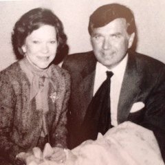 First Lady Rosalynn Carter and Carleton Varney, President of Dorothy Draper & Company