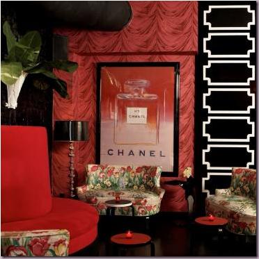 Ella Lounge – design by Dorothy Draper & Company graphic