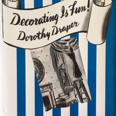 Decorating Is Fun! How to Be Your Own Decorator by Dorothy Draper - Available now from www.CarletonVarney.com