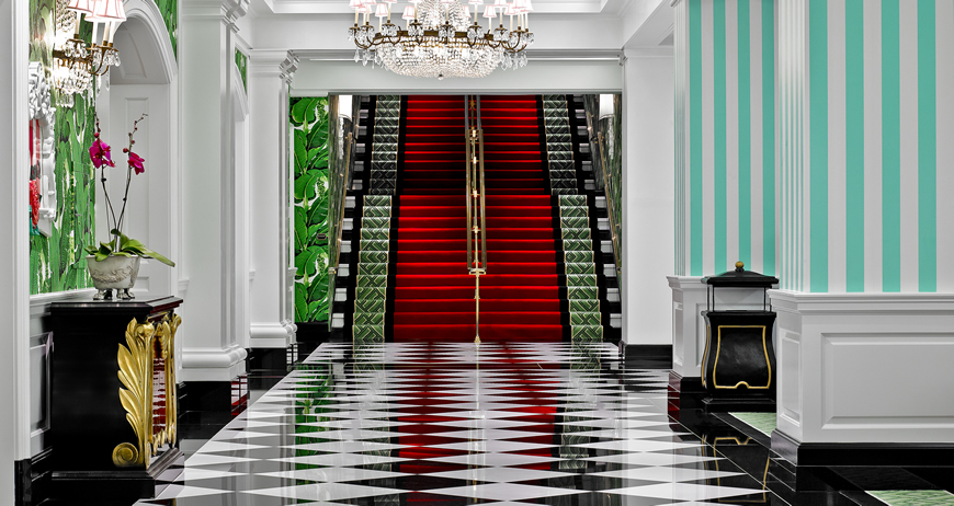 The Greenbrier, Mezzanine
